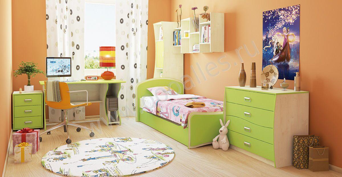 Детская комната  № 3567467 бесплатно