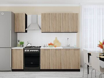 Кухня Брауни комплект 01