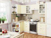 Кухня угловая Прованс ваниль